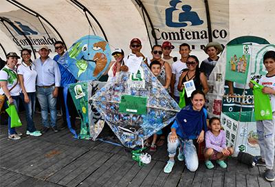 Ingenio y creatividad  de las familias en el Festival del Viento y las Cometas de Comfenalco Tolima