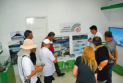 Parque Temático Omaira Sánchez recibió visita de la Unesco para identificar ruta de Geoparques